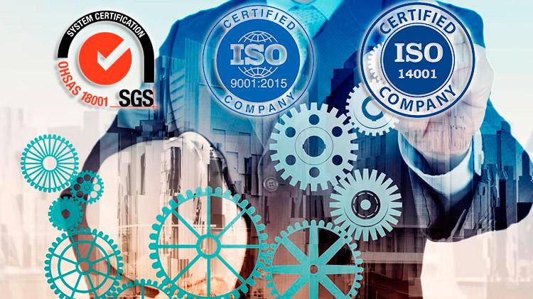 Curso online de Auditor Interno de Sistemas Integrados de Gestión. ISO 9001:2015 - ISO 14001:2015 - OHSAS 18001