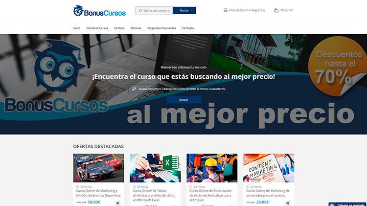 Estrenamos nueva web de BonusCursos.com   Estrenamos nueva web de BonusCursos.com cursos online bonus cursos